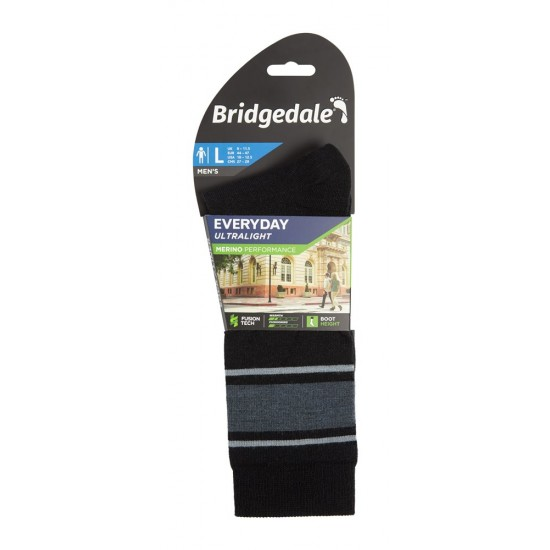 Șosete Bărbați Bridgedale Everyday Ultralight Merino Performance Boot Men's Socks