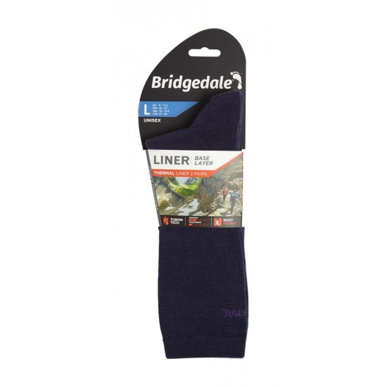 Șosete Interioare Bridgedale Base Liner Thermal Boot Liners - 2 Perechi