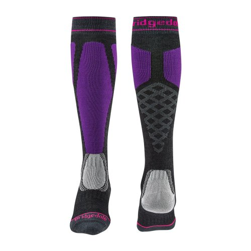 Șosete Schi Femei Bridgedale Ski Easy On Merino Endurance Over Calf Women's Socks