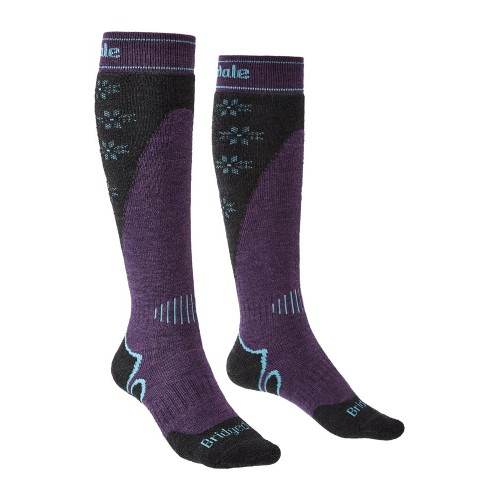 Șosete Schi Femei Bridgedale Ski Midweight Plus Merino Endurance Over Calf Women's Socks