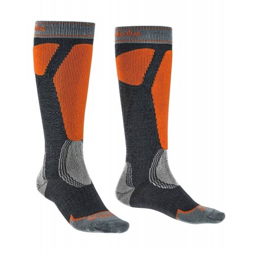 Șosete Schi Bărbați Bridgedale Ski Easy On Merino Endurance Over Calf Men's Socks