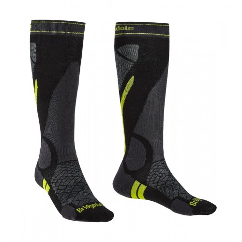 Șosete Schi Bărbați Bridgedale Ski Lightweight Merino Endurance Over Calf Men's Socks