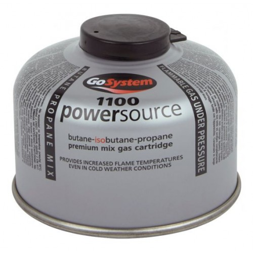Butelie Arzator Combustibil Gazos GoSystem PowerSource 100G B/P Mix Threaded Cartridge