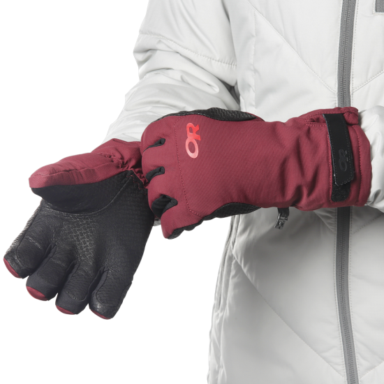 Outdoor Research Manusi Ouray Ice Gloves.