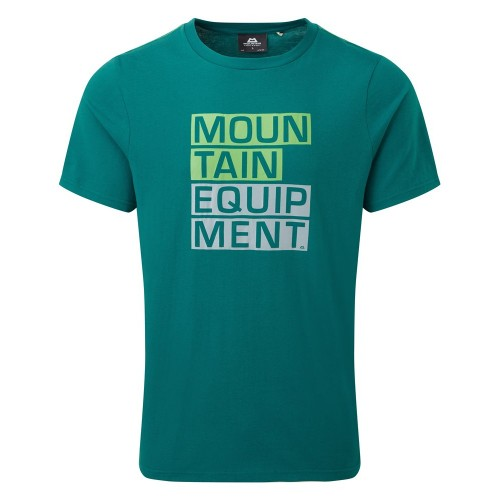 Tricou Bărbați Mountain Equipment Block Letter Tee
